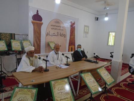 حصر البث المباشر لروضة الصيام على إذاعة القرآن وقناة المحظرة
